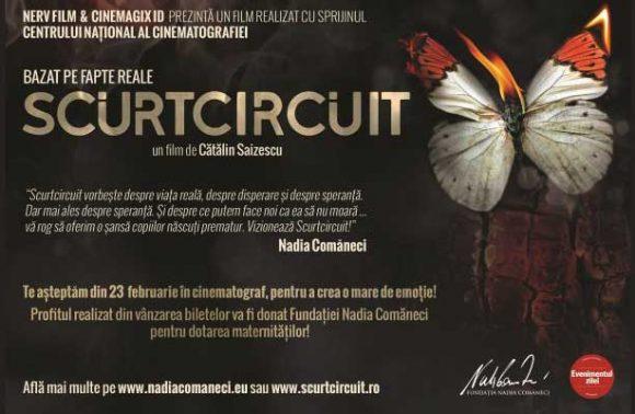 Filmul Scurtcircuit doneaza integral profitul pentru achizitionarea de incubatoare!