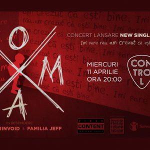 COMA lanseaza noi single si video pe 11 aprilie in Control