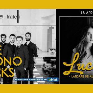 Lucia (lansare album) si The Mono Jacks live la Fratelli