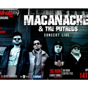Macanache & The Putreds, sambata seara, live in Mojo
