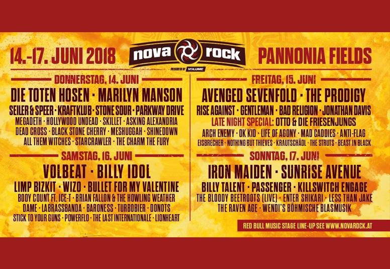 Nova Rock Festival 2018