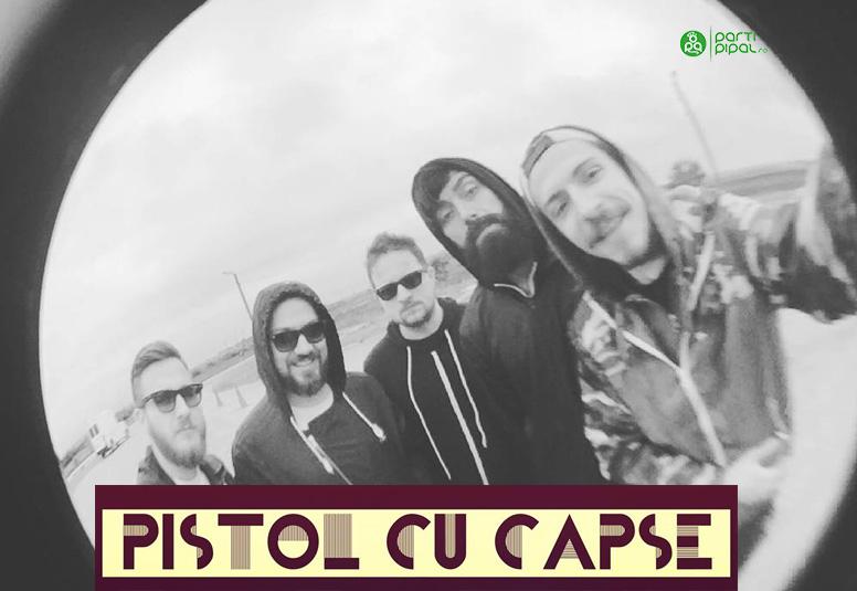Pistol cu Capse live in B52