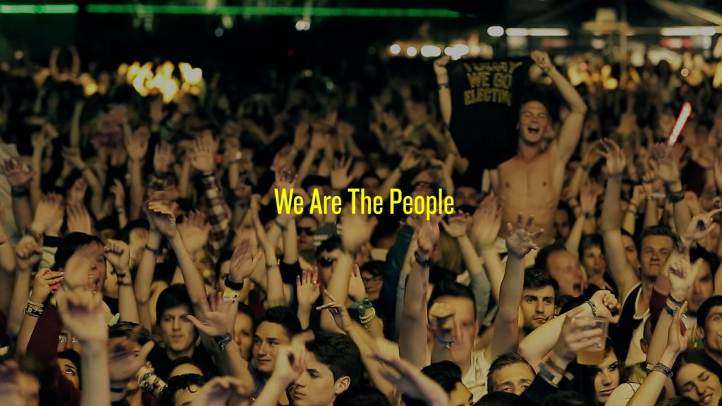 Electric Castle We are the people