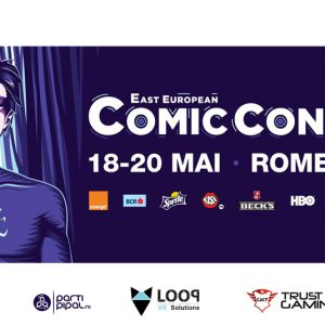 Let's Get Virtual la East European Comic Con 2018