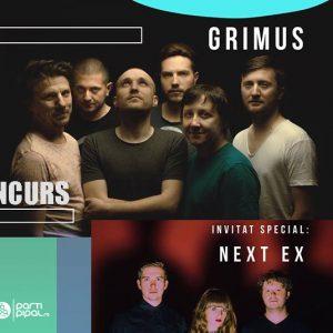 Partipipal te trimite la Grimus &  Next Ex live in Control