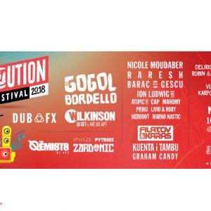 Revolution Festival:  3 zile si 3 nopti de nebunie muzicala!