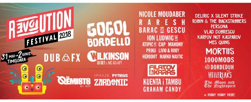 Revolution Festival Timisoara: vezi programul pe zile