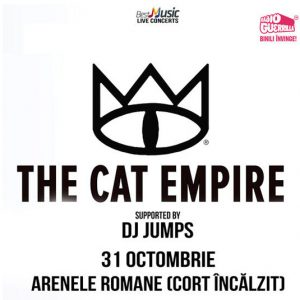 The Cat Empire revin la Bucuresti in luna octombrie