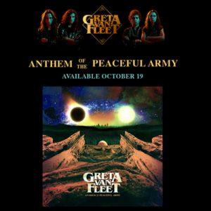 Watching Over: noul single Greta Van Fleet si un nou album in octombrie!