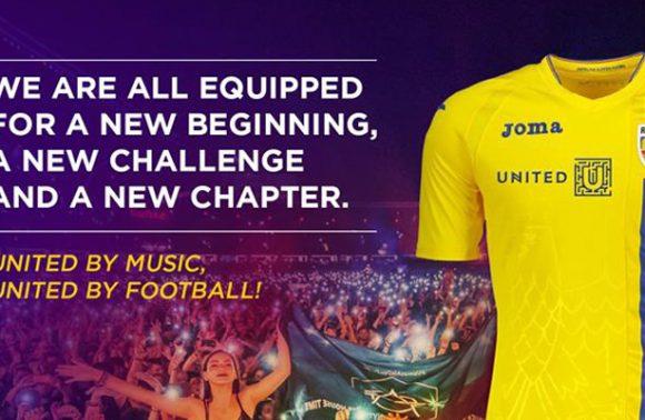 Untold si F.R.F continua initiativa de  educarea  tinerilor prin fotbal si muzica