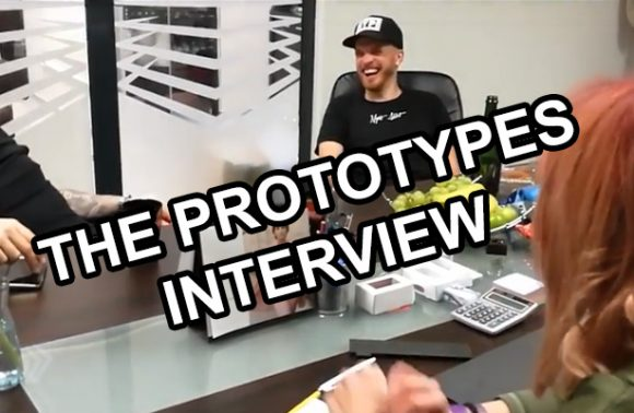 The Prototypes Interview at the 2 years Magnetic Anniversary