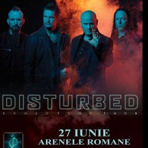 Concert Disturbed in premiera in Romania!