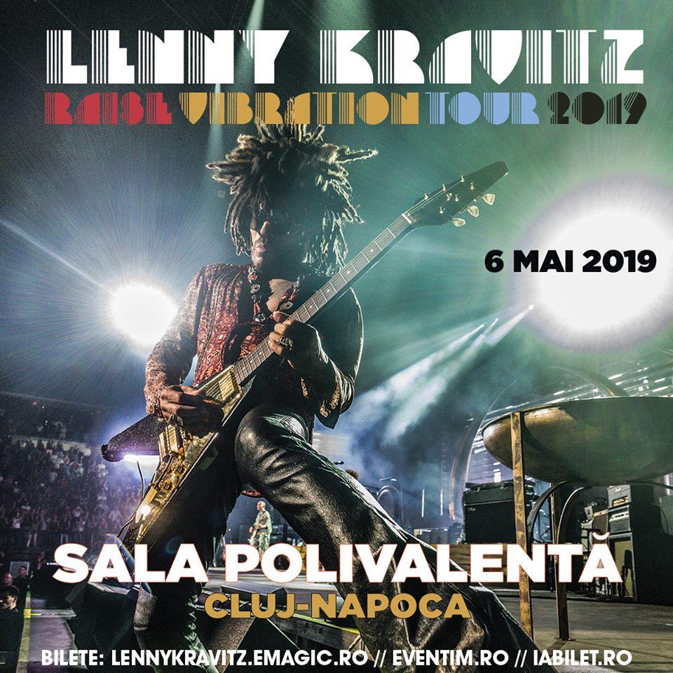 Lenny Kravitz concert Cluj