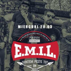 E.M.I.L. & Dimitri's Bats live in Expirat pe 28 martie