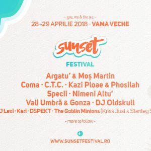 Sunset Festival are loc in mini vacanta de 1 Mai