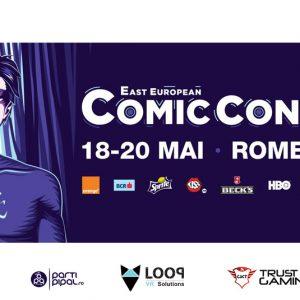 Let's Get Virtual la East European Comic Con 2018