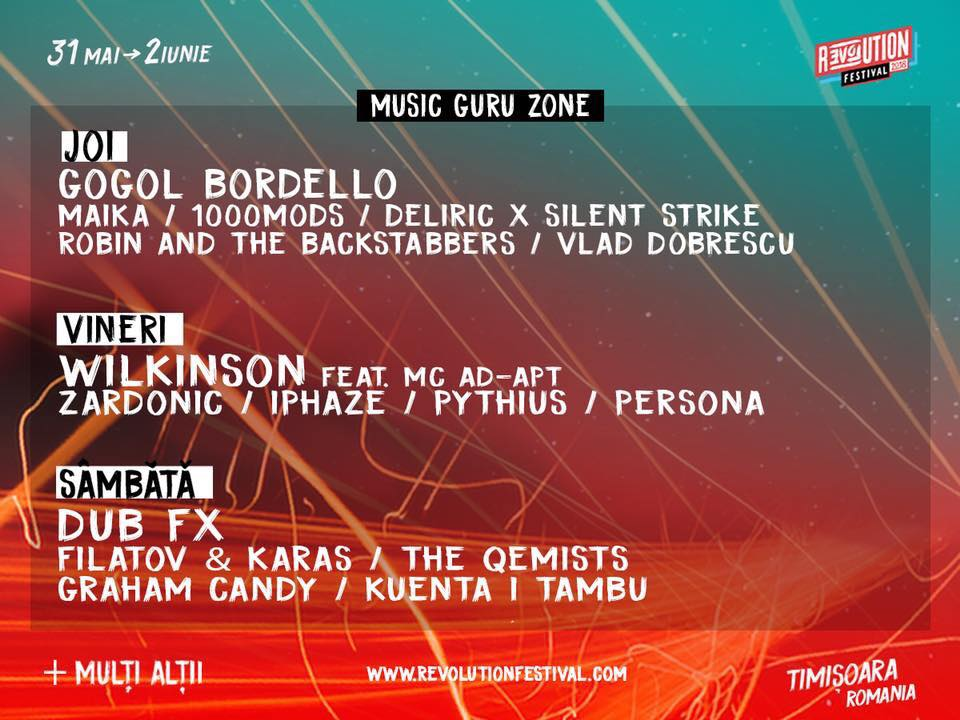 Revolution Festival - Music Guru Zone
