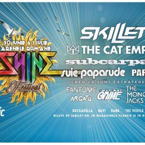Afla ce artisti vin alaturi de Cat Empire si Parazitii la Shine Festival!