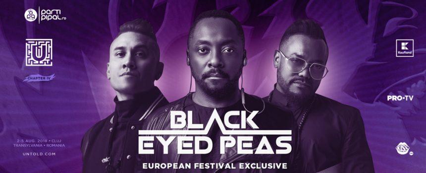 Black Eyed Peas vin la Untold Festival 2018