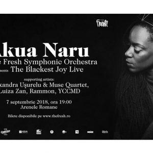 Akua Naru & The Fresh Symphonic Orchestra present:  Black Ecstatic Tour