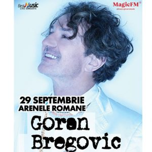 Concert Goran Bregovic la Arenele Romane pe 29 septembrie