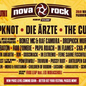 Slipknot, Dropkick Murphys, Rob Zombie si multi altii urca pe scenele Nova Rock 2019