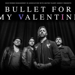 Bullet For My Valentine revin la Bucuresti in aprilie!