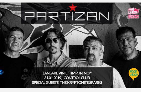"""Partizan - Lansarea vinilului """"Timpuri Noi"""""""
