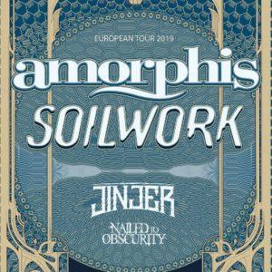 Amorphis, Soilwork & Jinjer la Bucuresti