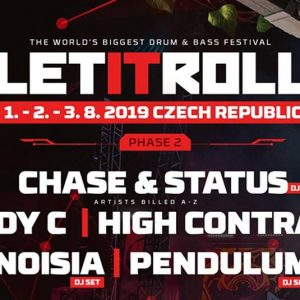 Let It Roll Open Air – Andy C, Pendulum, Noisia si MULTI, multi altii!