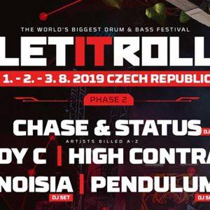Let It Roll Open Air – Andy C, Pendulum, Noisia si MULTI, multi altii!