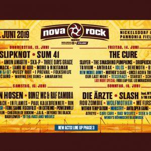 Nova Rock 2019 se anunta a fi de pomina! Afla line-up-ul pe zile