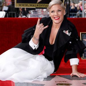 Pink a primit propria stea pe Hollywood Walk Of Fame!