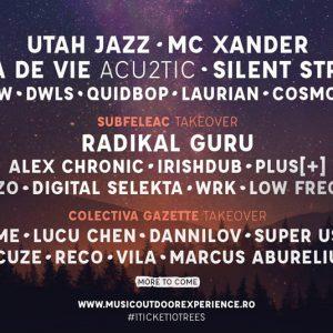 Music Outdoor Experience 2019: Radikal Guru, Vita de Vie Acu2tic & many more