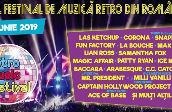 Retro Music Festival – Program și bilete de o zi