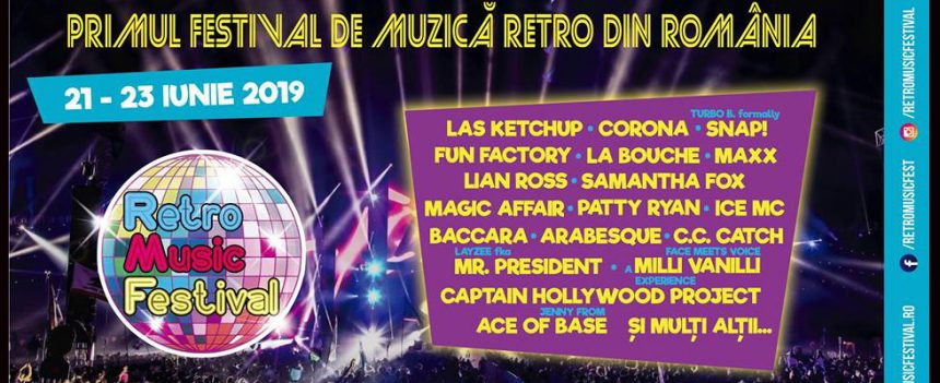 Retro Music Festival – Program și bilete de o zi