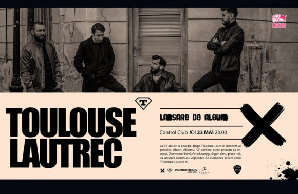 Toulouse Lautrec lansare album