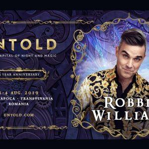 Robbie Williams, surpriza editiei aniversare UNTOLD