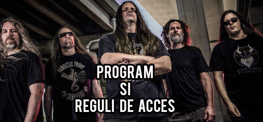Concert Cannibal Corpse pe 13 Iunie: Program si Reguli Acces
