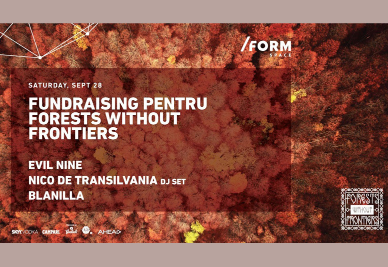 Forests Without Frontiers Party at Form Space Cluj