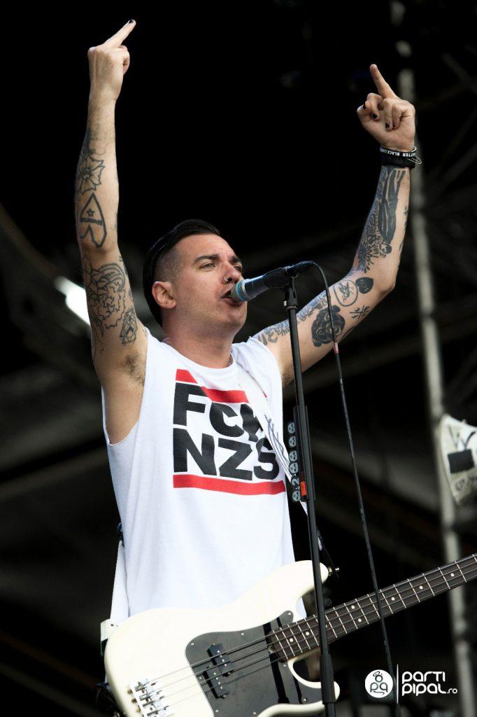 Anti-Flag Nova Rock 2018