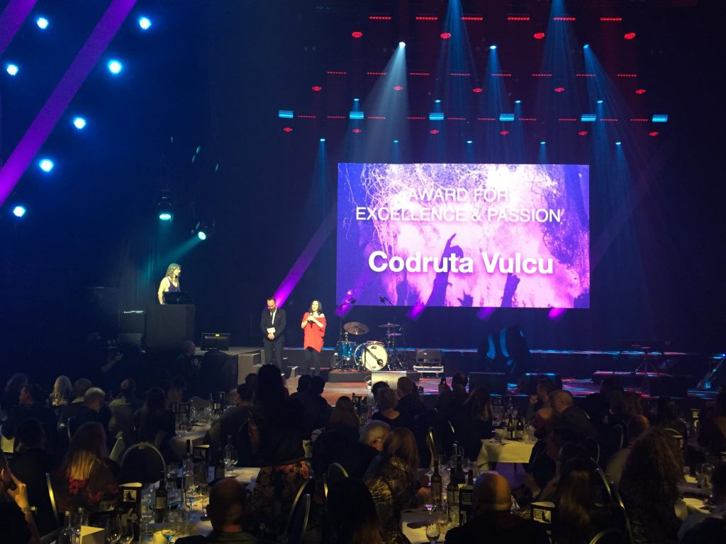 Codruta Vulcu The Award for Excellence and Passion