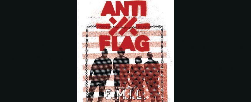 E.M.I.L. deschide concertul ANTI-FLAG de pe 1 Februarie din Quantic