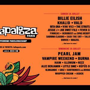 Pearl Jam, Fever 333 si multi altii la Lollapalooza Paris