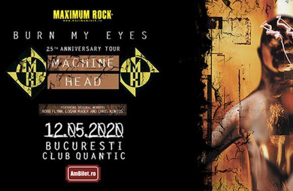 Machine Head revin in Romania