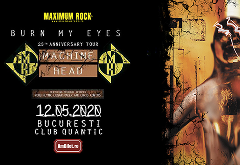 Machine Head revin in Romania