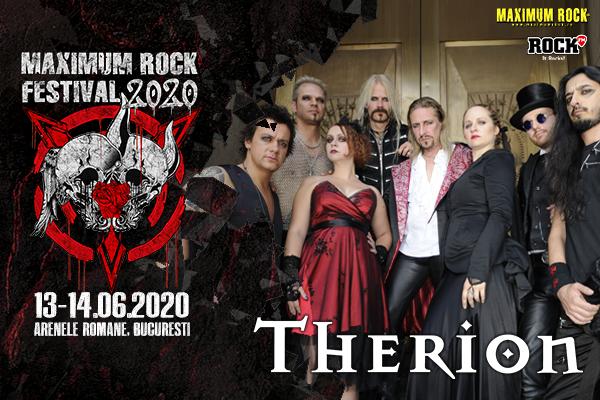 Therion la Maxium Rock Festival