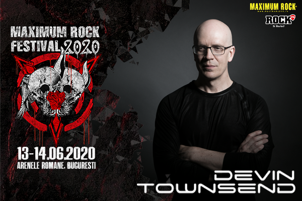 Devin Townsend la Maximum Rock Festival