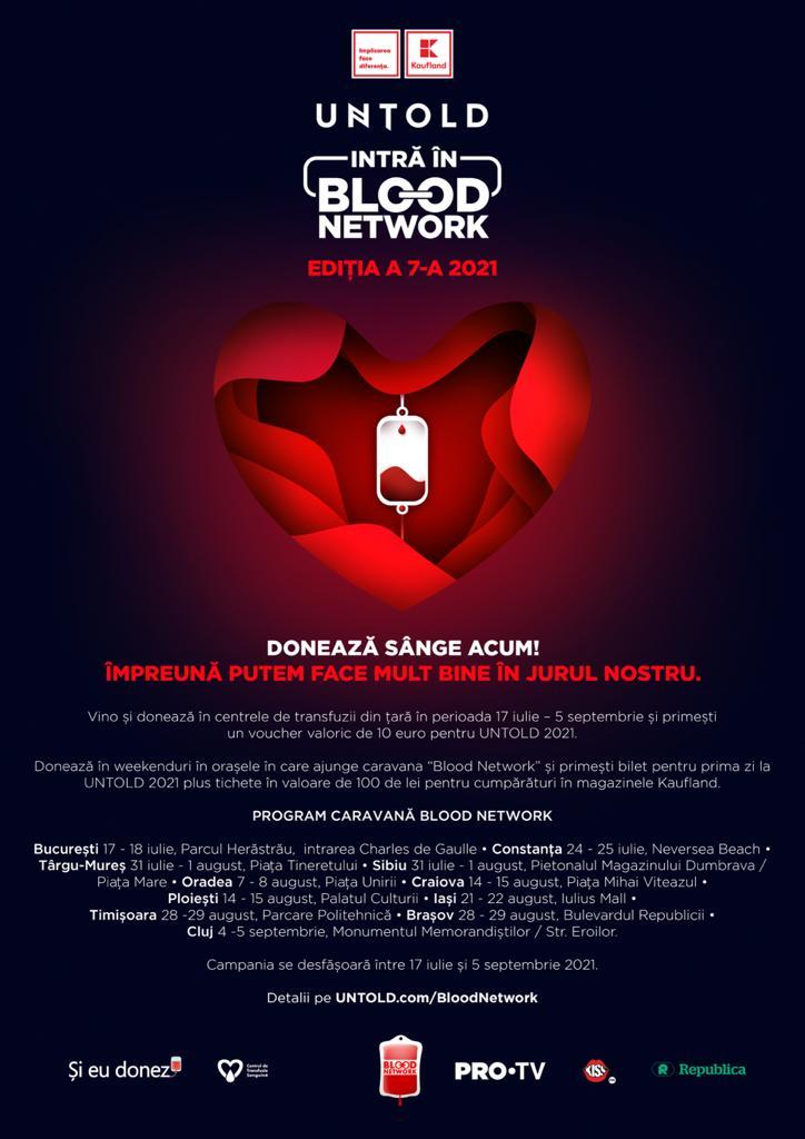 Doneaza sange si mergi la Untold