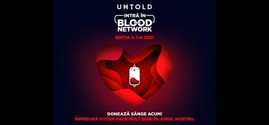 Doneaza sange si mergi gratis in prima zi de Untold!